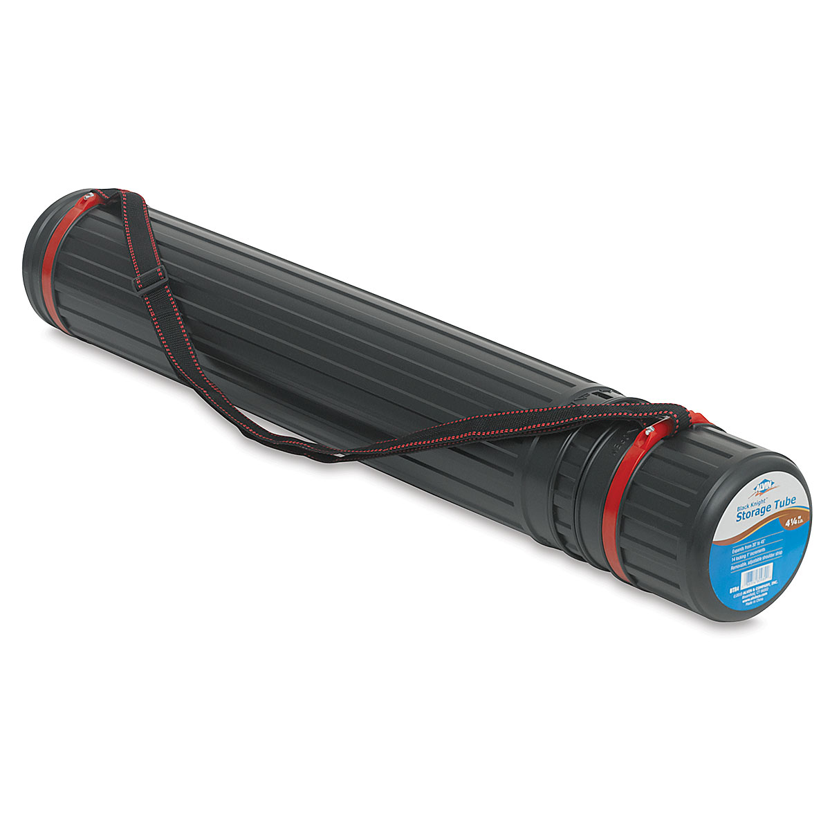 Ideal For Storage Of Important Documents Water Resistant Storage Tube in Black