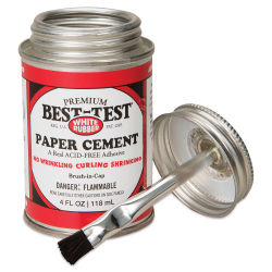 Best-Test Acid-Free Paper Cement