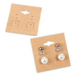 Jewelry Tags - Hanging Earring Tags, Pkg of 24