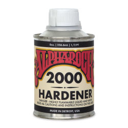 Alpha6 AlphaRock 2000 Hardener - Clear Hardener, 8 oz, Can