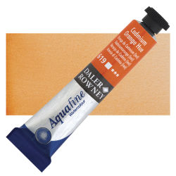 Daler-Rowney Aquafine Watercolors and Sets - Cadmium Orange Hue, 8 ml, Tube