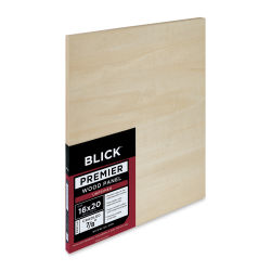 Blick Premier Wood Panel - 16'' x 20'', 7/8'' Traditional Profile, Cradled