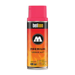 Molotow Belton Spray Paint - 400 ml Can, Neon Pink