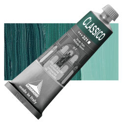Maimeri Classico Oil Colors - Phthalo Green, 60 ml tube