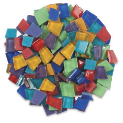 Crafter's Cut Pre-Cut Mosaic Assortment - Basic Assortment, 16 oz