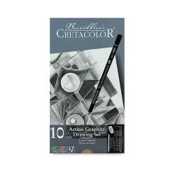 Basic Drawing Set, with 10 Pieces