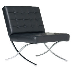 Studio Designs Atrium Chair - Black and Chrome