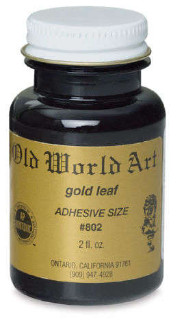 Old World Art Adhesive Size - 2 oz