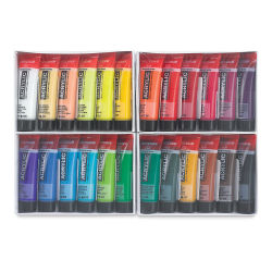 Amsterdam Standard Series Acrylics - Set of 24 colors, 20 ml tubes