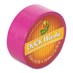ShurTech Duck Washi Tape - Pink, 3/4'' x 45 ft