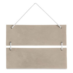 Cement Surface - Rectangle Hanging Plaque, 7-1/4''H x 9-3/4''L