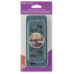 Sculpey Tools Mosaic Cutters - Hexagon