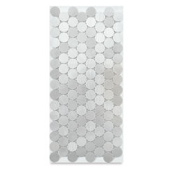 Diamond Tech Metal Tile Half Sheet - Stainless Steel, 20 mm Rounds