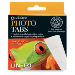 Lineco Quick-Stick Photo Tabs