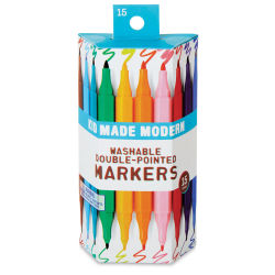 Kid Made Modern Washable Double Pointed Markers - Set of 15