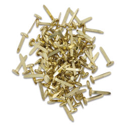Officemate Round Head Paper Fasteners - Pkg of 100