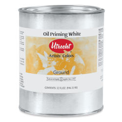 Utrecht Oil Priming Material - White, Quart