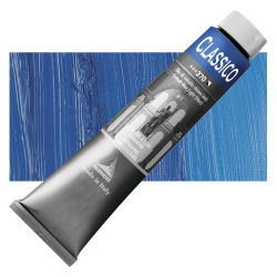 Maimeri Classico Oil Color - Cobalt Blue Light (Hue), 200 ml tube