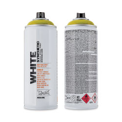 Montana White Spray Paint - Malaria, 400 ml can