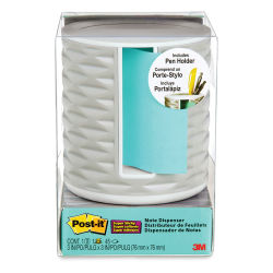 3M Post-it Pop Up Dispenser and Pen Holder - Light Grey