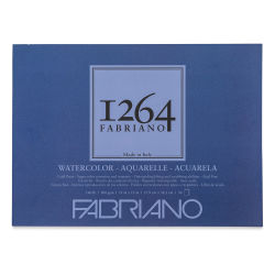 "Fabriano 1264 Watercolor Pad, 11"" x 15"", Glue Bound, 30 Sheets, Landscape"