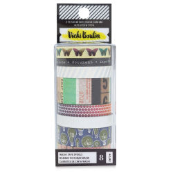 American Crafts Washi Tape - Kaleidoscope, 6 yd, Package of 6, In Package