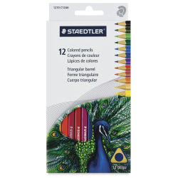 Staedtler Triangular Colored Pencil - Set of 12
