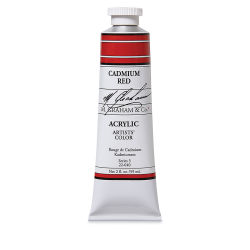 M. Graham Artists' Acrylics - Cadmium Red, 2 oz tube