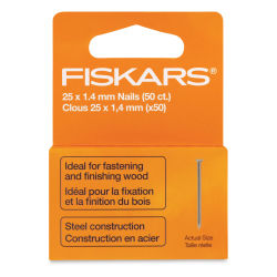 Fiskars Finishing Nails, Package of 50