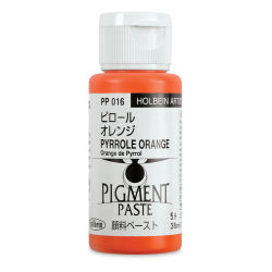 Holbein Tosai Pigment Paste - Pyrrole Orange, 35 ml