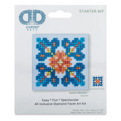 Diamond Dotz - Autumn Mandala 1, 3'' x 3''