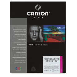 Canson Infinity Photo Lustre Premium RC - 8-1/2'' x 11'', Pkg of 25 Sheets