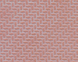 Plastruct Patterned Sheets, Interlocking Paving, 1:48 Scale