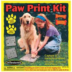 Paw Print Kit Stepping Stone