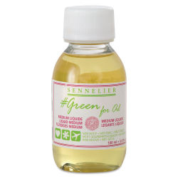 Sennelier #Green for Oils - Liquid Medium, 100 ml