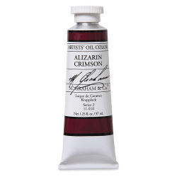 M. Graham Artists' Oil Color - Alizarin Crimson, 37 ml tube