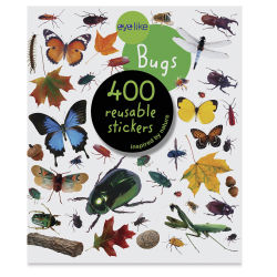 Eyelike Bugs Reusable Stickers, Book Cover