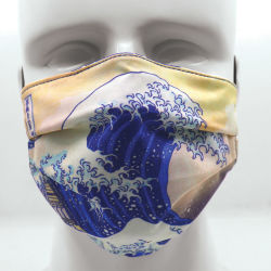 Today Is Art Day Reversible Face Masks-The Great Wave