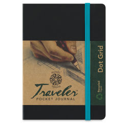Pentalic Traveler Grid Pocket Journal - 6'' x 4''