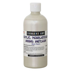 Sargent Pearlescent Mixing Medium - 16 oz bottle