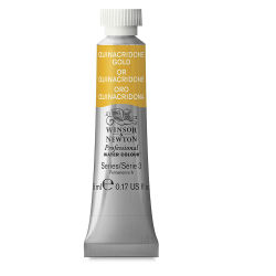 Winsor & Newton Professional Watercolor - Quinacridone Gold, 5 ml Tube