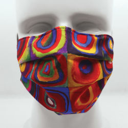 Today Is Art Day Reversible Face Masks-Circles