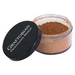 Graftobian HD LUXE Cashmere Setting Powder - Pecan Pie