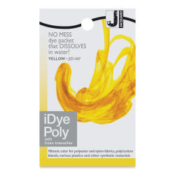 Jacquard iDye - Yellow, Polyester / Nylon, 14 g packet