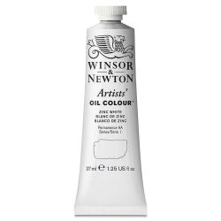 Winsor & Newton Artists' Oil Color - Zinc White, 37 ml tube