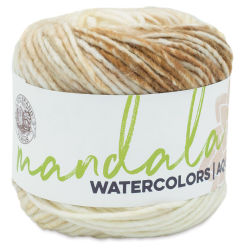 Lion Brand Mandala Watercolors Yarn - Almond, 164 yards