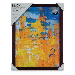 Blick Wood Gallery Frame - Walnut, 12'' x 16''