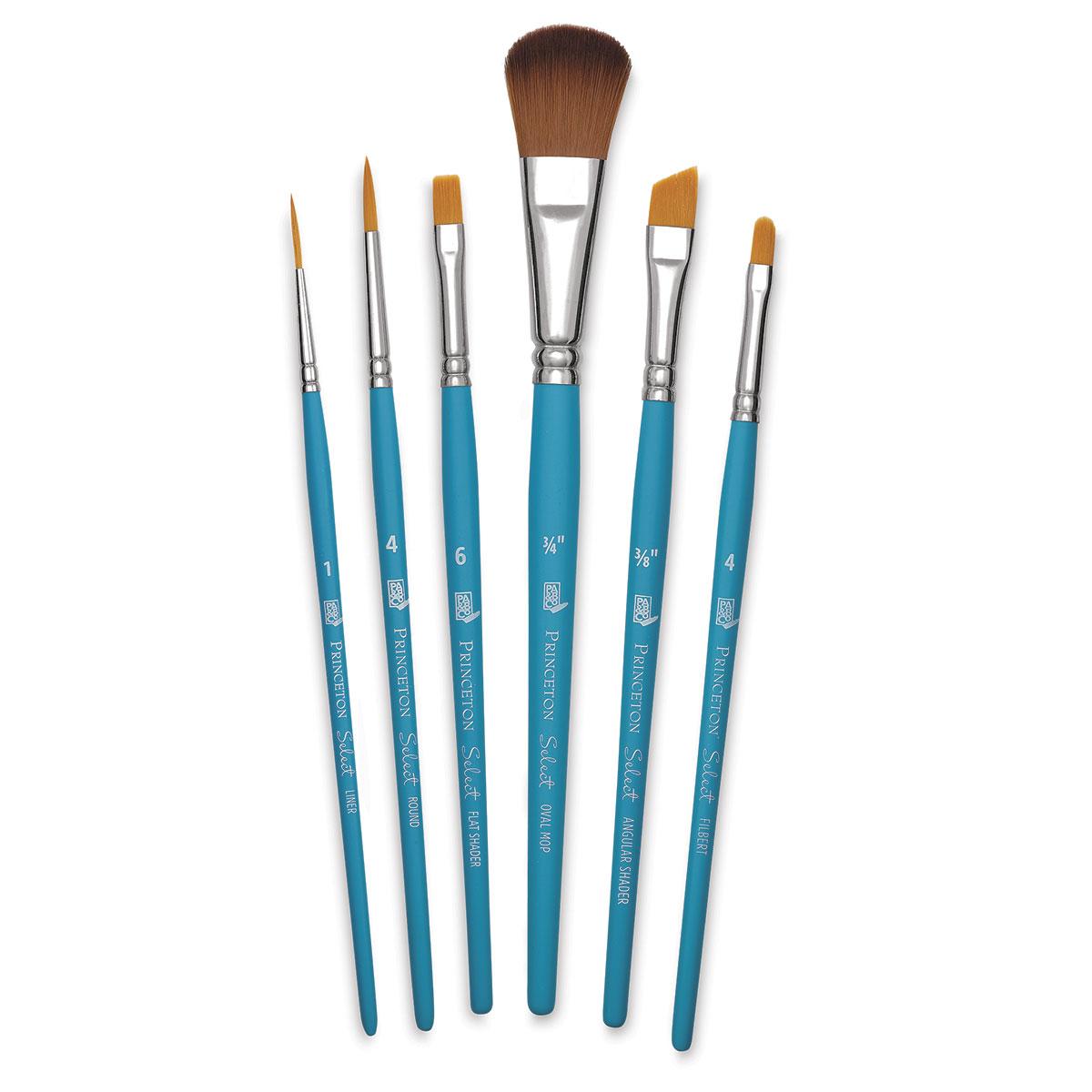 Princeton Art /& Brush Select Bristle Brush Pointed Filbert 2 by Princeton Art /& Brush
