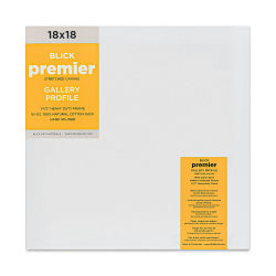 Blick Premier Gallery Profile Cotton Canvas - - 18'' x 18''