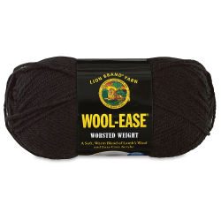 Lion Brand Wool-Ease Yarn - Black